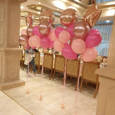 Балони с хелий за рожден ден и декорация на ресторант