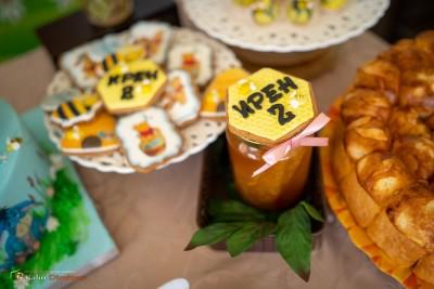 Меденки и декорация за сладка маса за детски рожден ден Мечо Пух