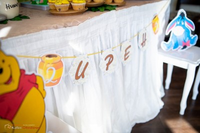 Надпис за детски рожден ден Мечо Пух