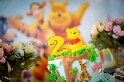 Торта с мече за детски рожден ден