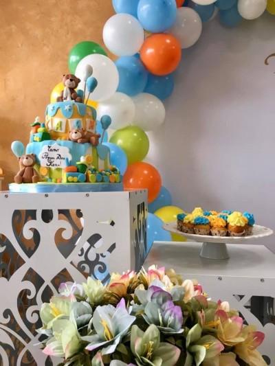 Сладка маса за детски рожден ден на момченце