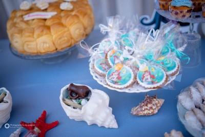 Детайли за декорация на детски рожден ден Малаката русалка