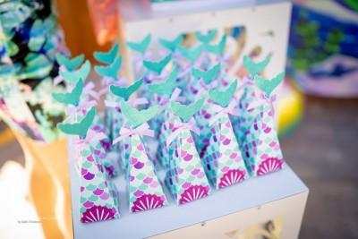 Подаръчета за гости на детски рожден ден Малаката русалка Ариел