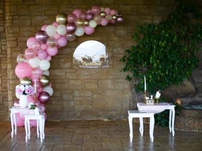Декорация на ресторант за Свето кръщение на момиченце