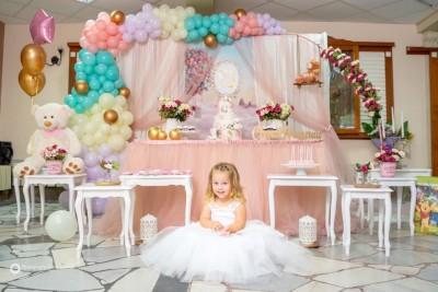 Фотокът за Свето кръщение и рожден ден на момиченце