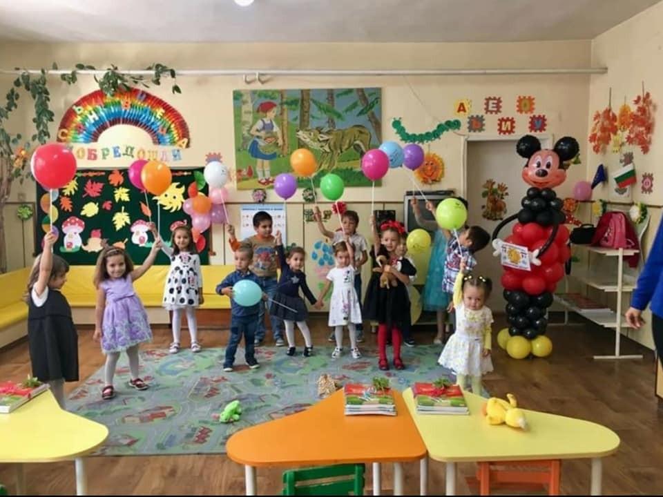 Балони за декорация на празник в детска градина
